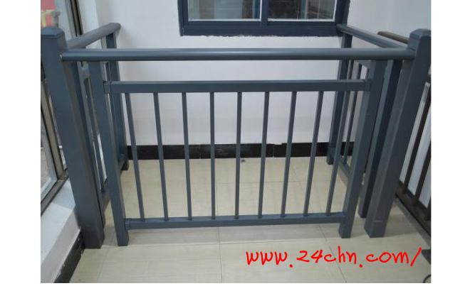 灰砂纹铝艺护栏