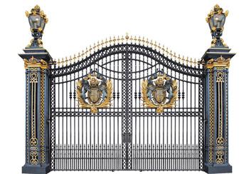 别墅大门设计,围墙别墅大门效果图片